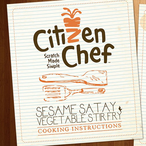 Help Upcoming Whole Foods Brand Reinvent the Recipe Card!