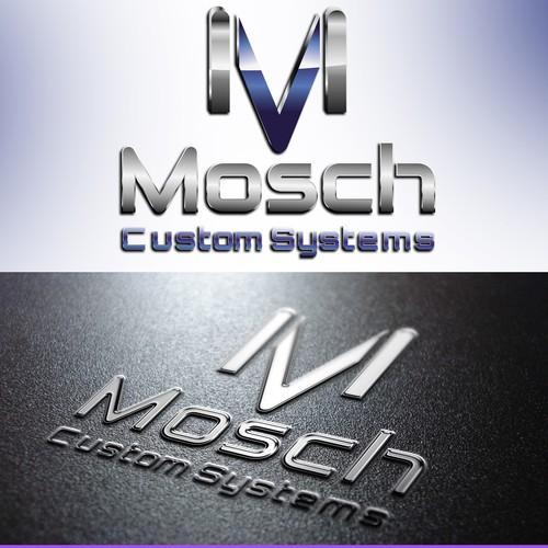 Cool Metallic Audio Logo Design