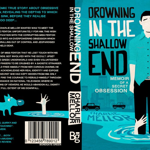 Creative book cover wanted for darkly comic memoir