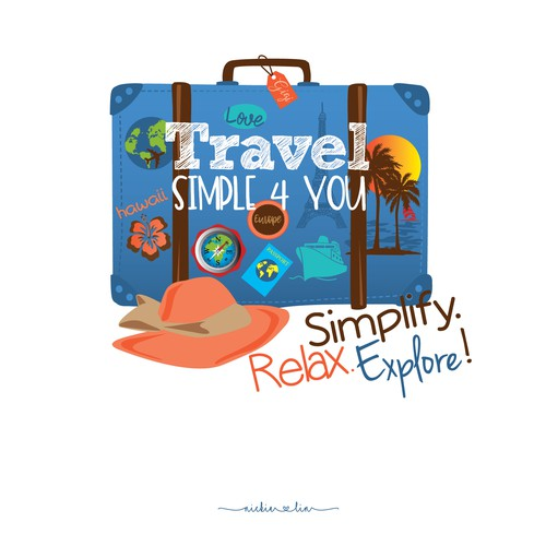 Love to travel but hate to plan? Design a Logo for Simple Travel! A travel agency solution.