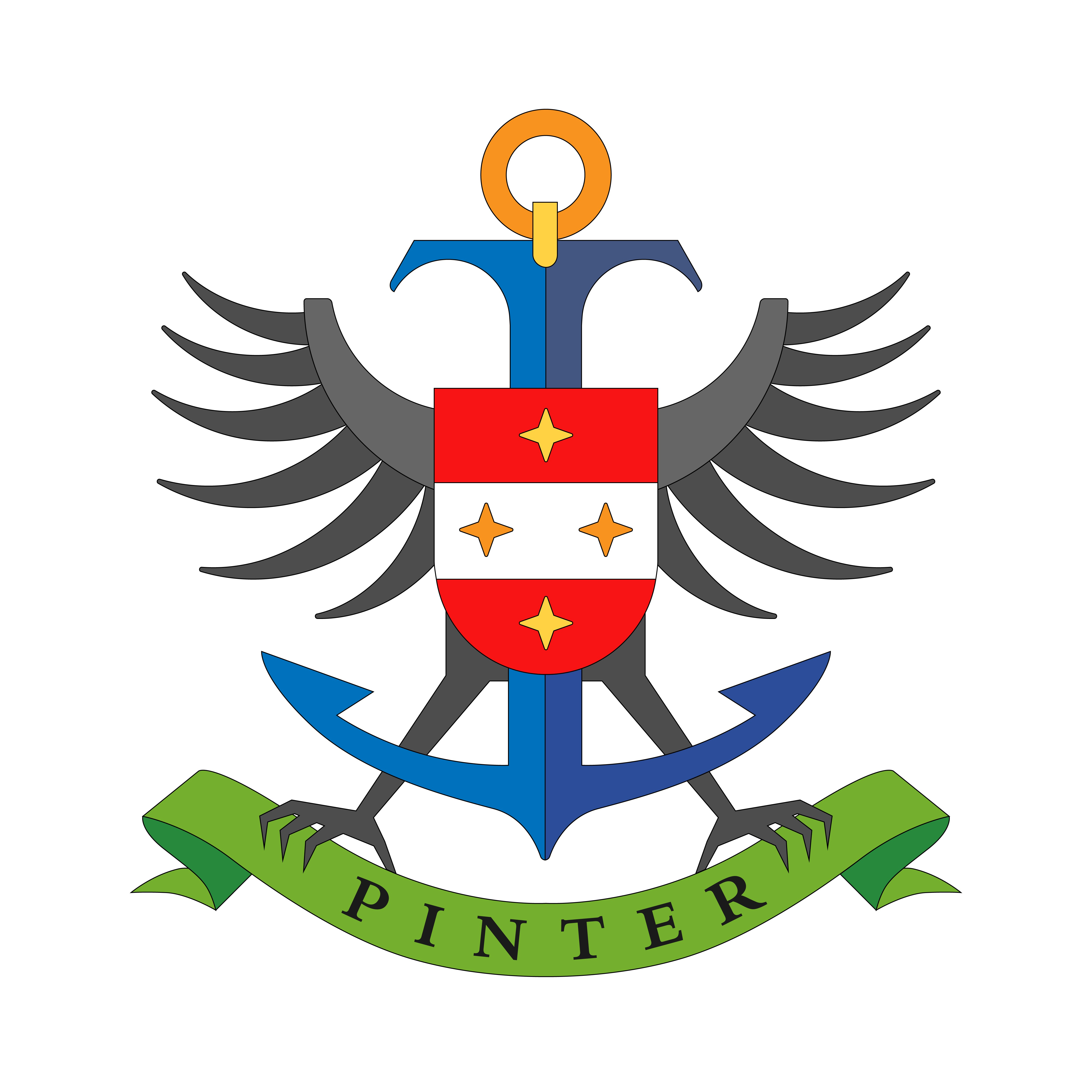 We need a logo/family crest, we are not a company but a real private family