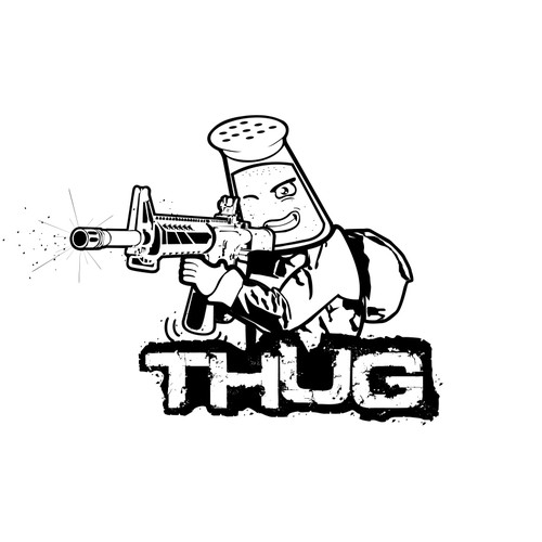 Gaming Team Logo concept for THUG