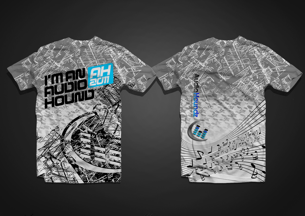 Help Audio Houndz Publishing Group Inc. ( www.audiohoundz.com) with a hot new T-shirt design.