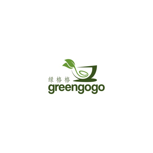 simple logo concept for greengogo
