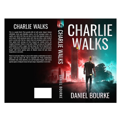 Charlie Walks Book Cover Design