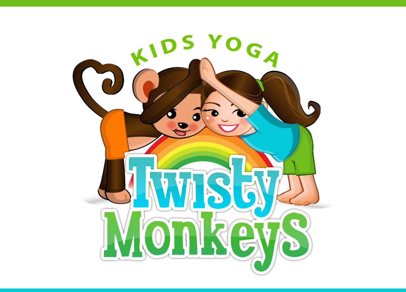 Twisty Monkeys Kids Yoga needs a new logo