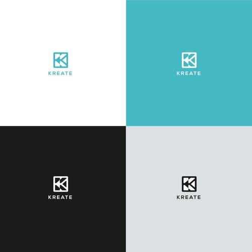 K Media logo design