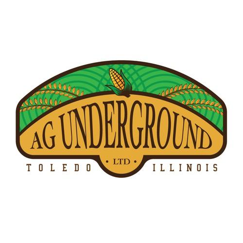 AG Underground Logo Design