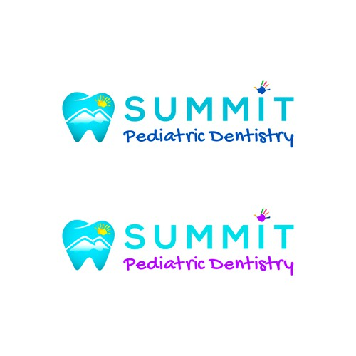 Pediatric dentistry practice, high end, simple, sleek and beautiful.