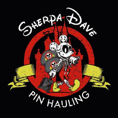Sherpa Dave T-shirt Design