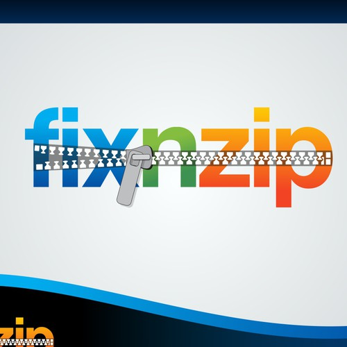 Create the next logo for Fix N Zip