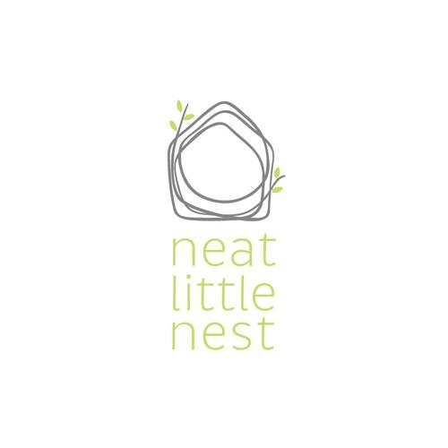 Hand drawn nest house