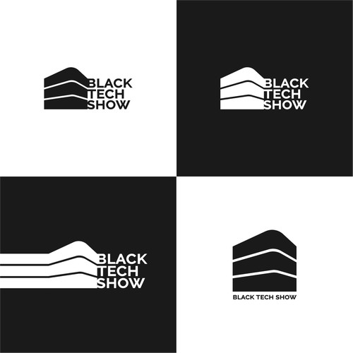 Logo concept for a technology show in the achitecture industry