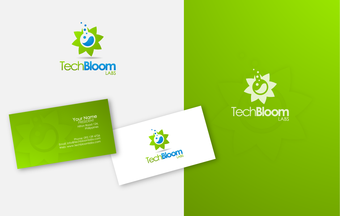 Create the next logo for TechBloom Labs