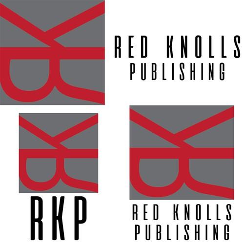 Masculine logo for publishing company