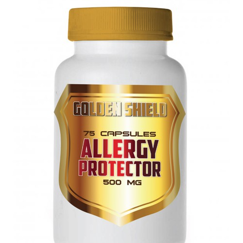 product label for Golden Shield