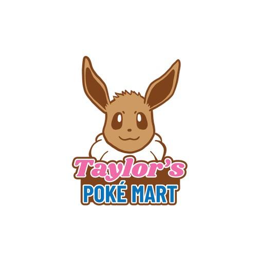 Taylor's Poké Mart logo concept