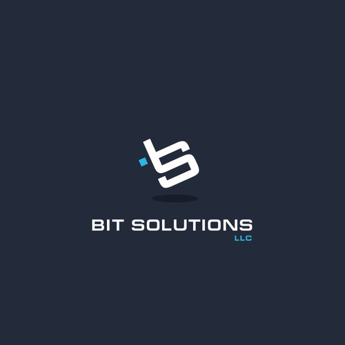 Bit Solutions 'BS' logo