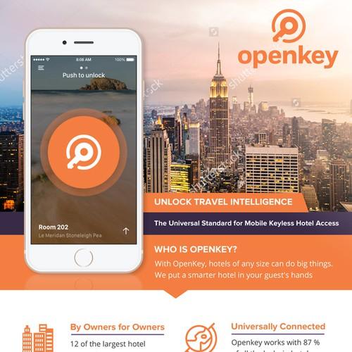 flyer design for openkey