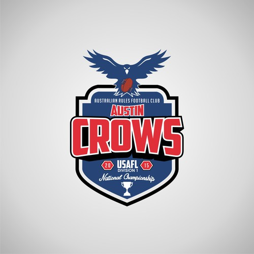 Create an exciting logo for a National Championship team!