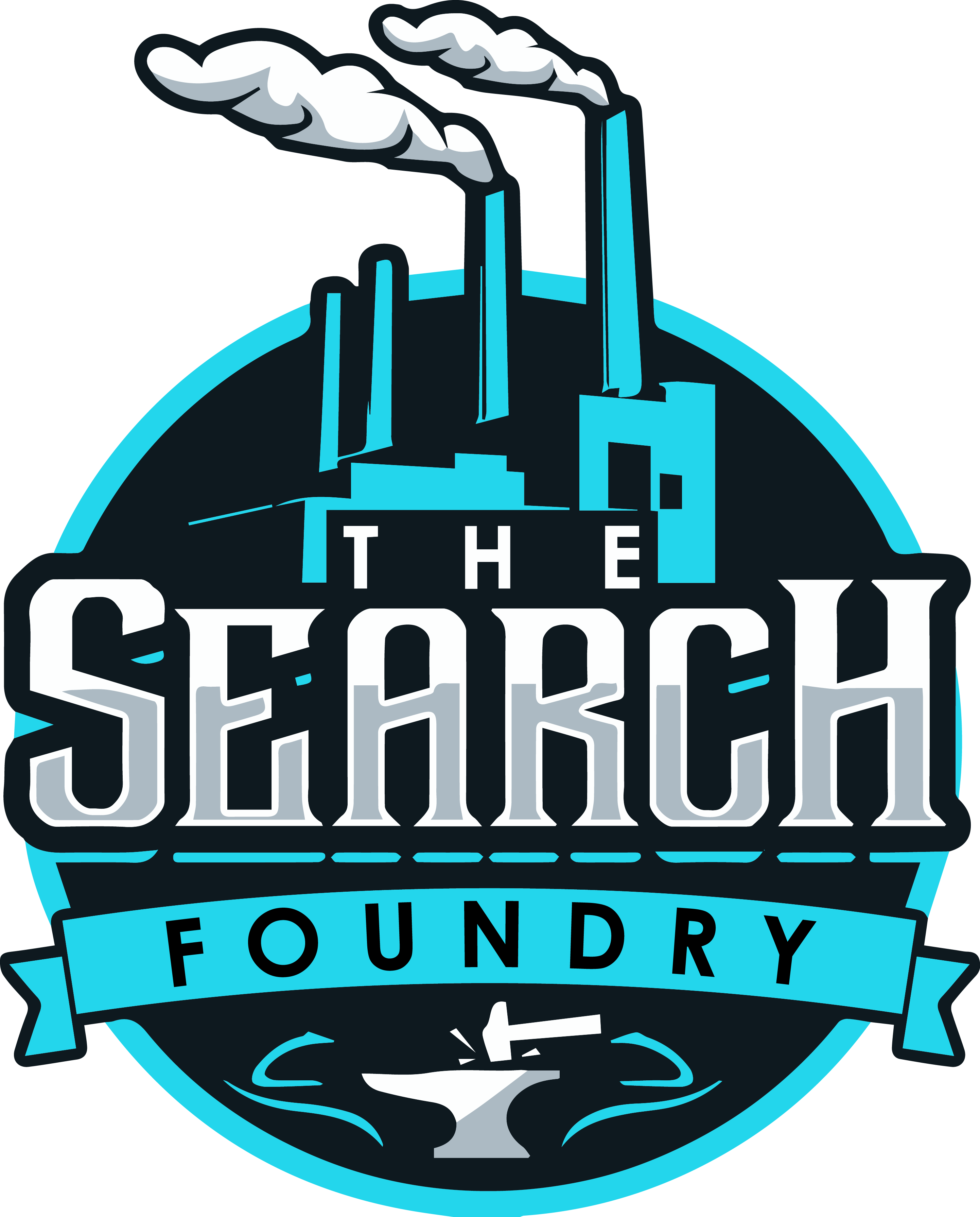 Design something strong for The Search Foundry