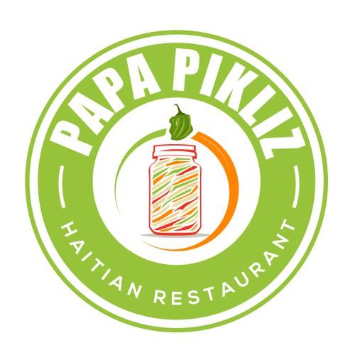 Modern logo for restaurant