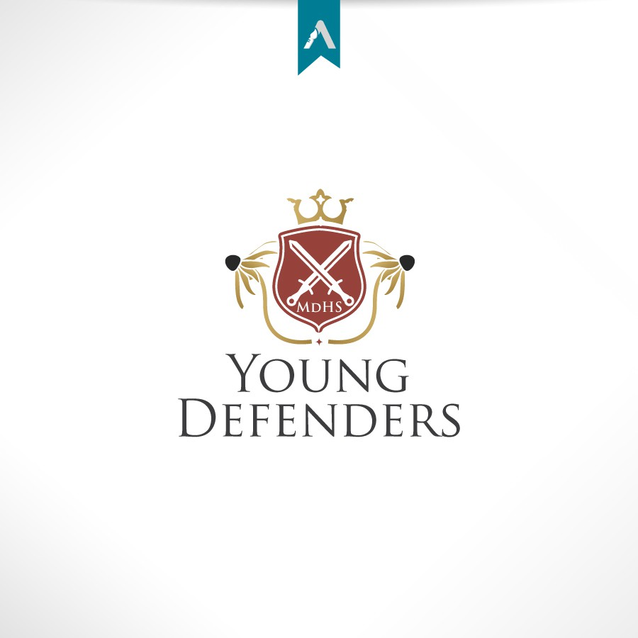 Create the next logo for the Young Defenders