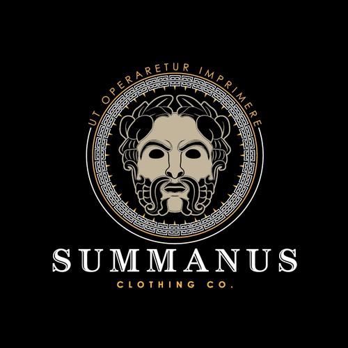 Summanus logo design