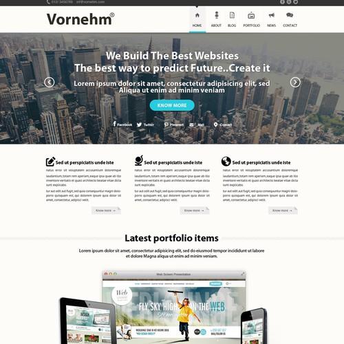 Web design for web dev shop