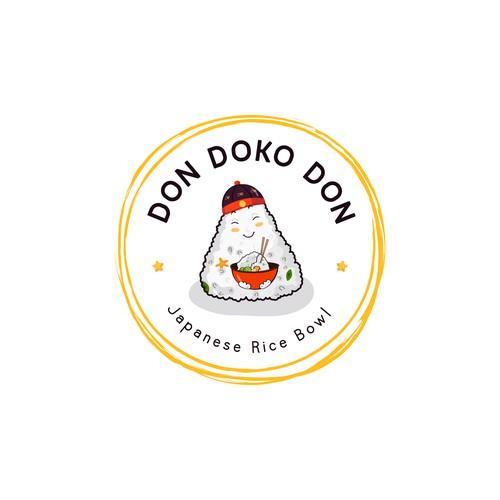 Don Doko Don food Logo design