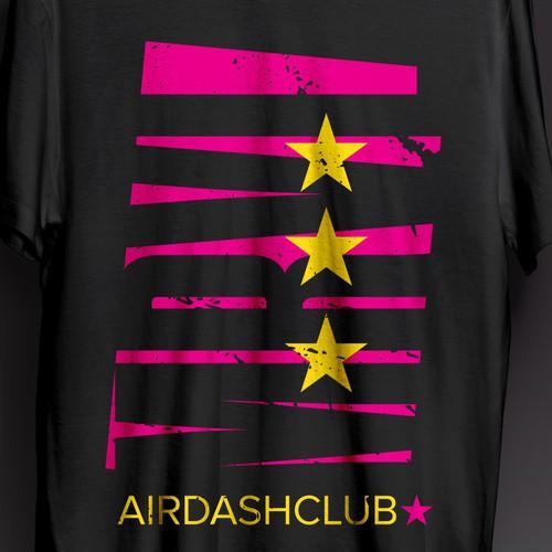 Marvel Airdash club T-shirt