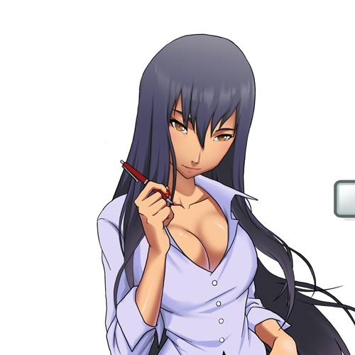 Sexy Anime Girl Logo Design, for a Gaming Website!