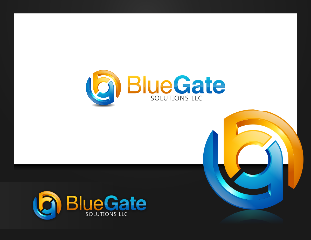 Help BlueGate Solutions LLC with a new logo and business card