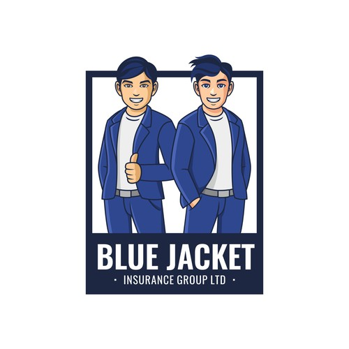 Blue Jacket Fun Logo