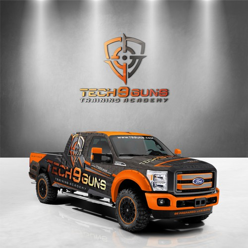 TECH9Guns Truck wrap