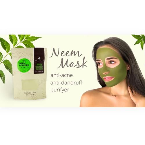 Neem Mask Banner