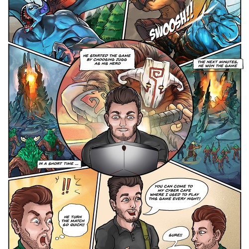 1-1 project Comic series