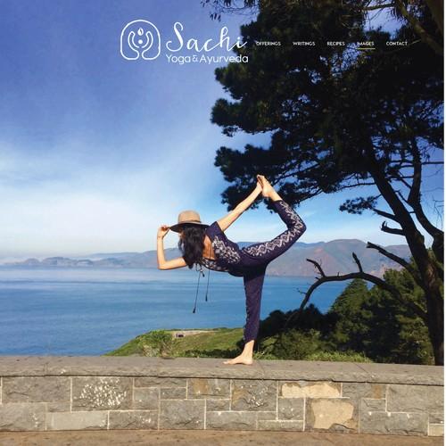a bold concept for yoga feel logo