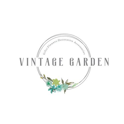 Vintage Garden logo update