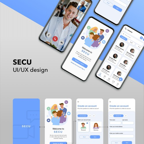 Secu Chat Video app