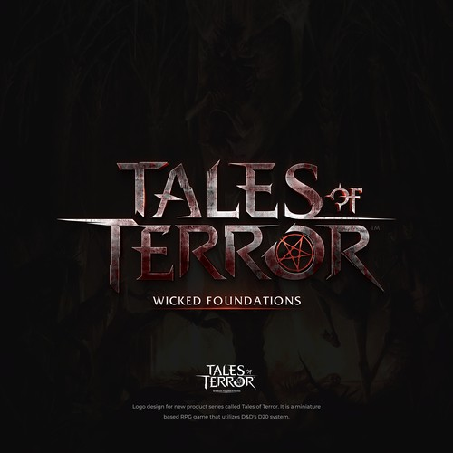 Tales of Terror - RPG Game Logo