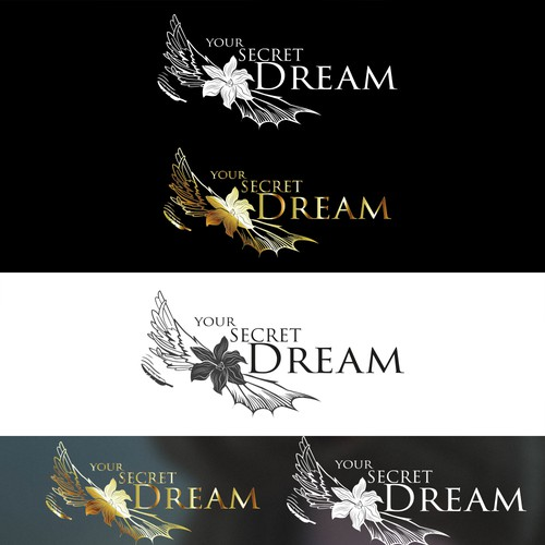 Erotic dreams come true - Angel and Demon Logo Design