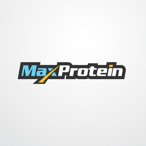 MAXPROTEIN.COM LOGO DESIGN