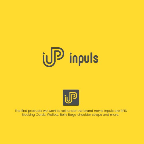 Designed a monoline logo for Inpuls