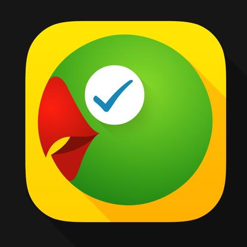 Talking reminders mobile app icon