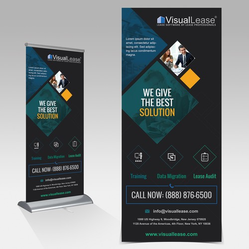 VisualLease Pop-up Banner