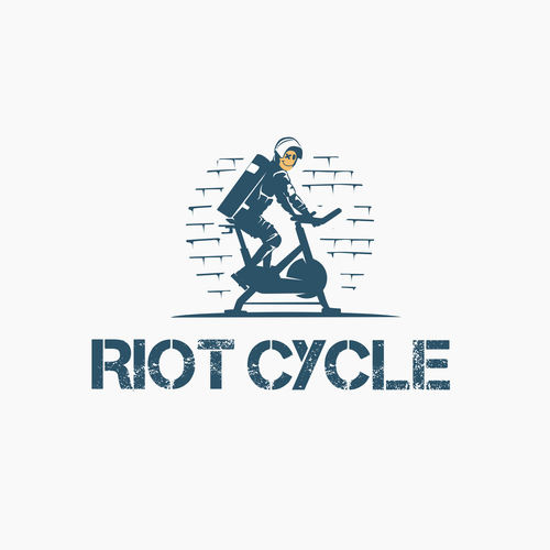 Clever logo for RIOT CYCLE
