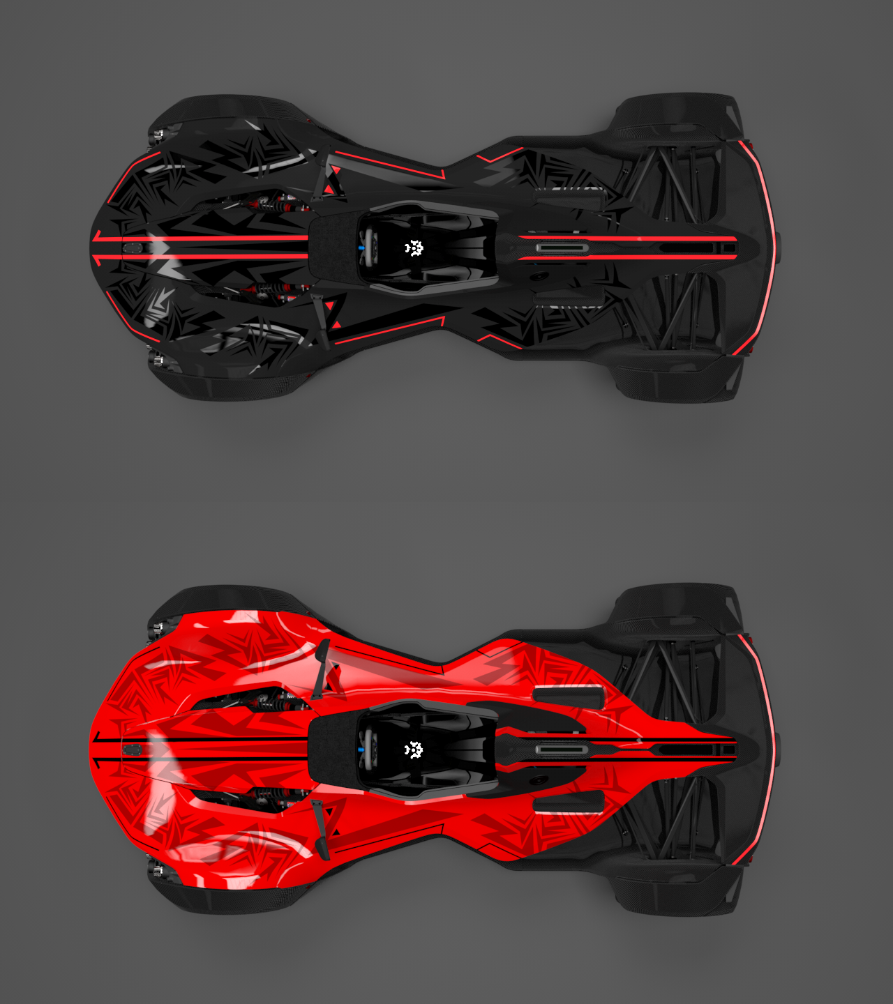 Unique Exotic Car Design - Wrap for BAC Mono