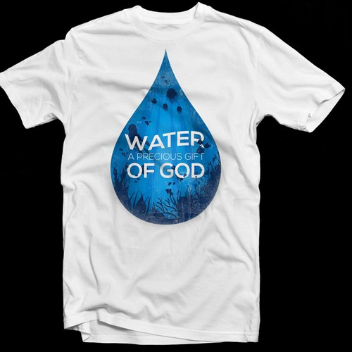 Water Theme T-shirt Competition (If great work, willing to award multiple designers)