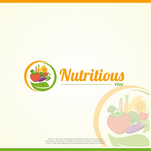 Logo design for Nutritious You